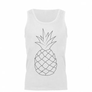 Męska koszulka Pineapple contour