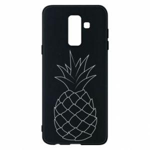 Etui na Samsung A6+ 2018 Pineapple contour