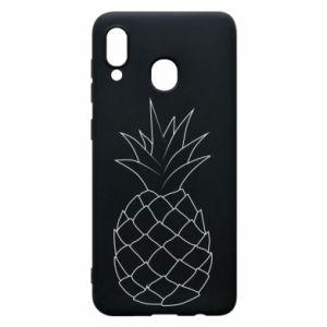 Etui na Samsung A20 Pineapple contour