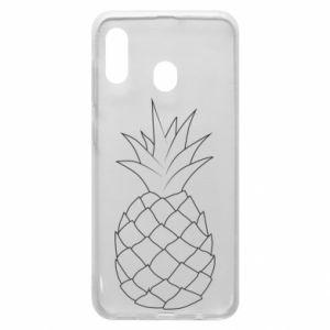 Etui na Samsung A30 Pineapple contour