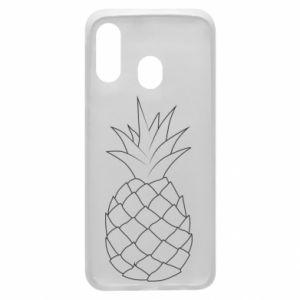 Etui na Samsung A40 Pineapple contour