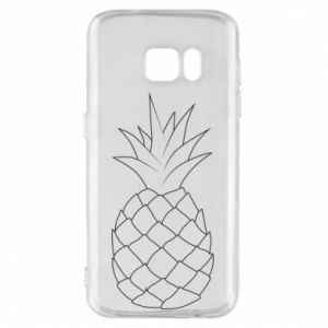 Etui na Samsung S7 Pineapple contour