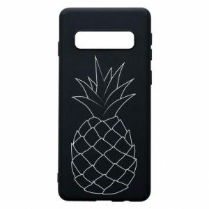 Etui na Samsung S10 Pineapple contour