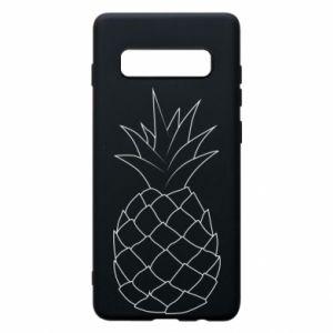 Etui na Samsung S10+ Pineapple contour
