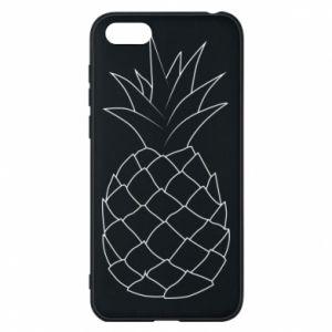 Etui na Huawei Y5 2018 Pineapple contour