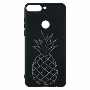 Etui na Huawei Y7 Prime 2018 Pineapple contour