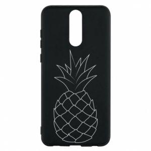 Etui na Huawei Mate 10 Lite Pineapple contour