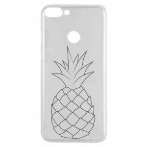 Etui na Huawei P Smart Pineapple contour