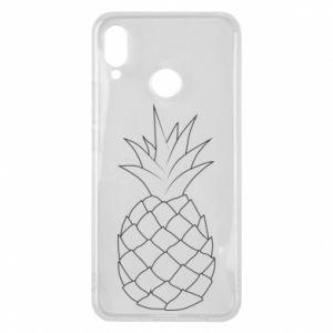 Etui na Huawei P Smart Plus Pineapple contour