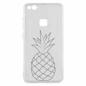 Etui na Huawei P10 Lite Pineapple contour