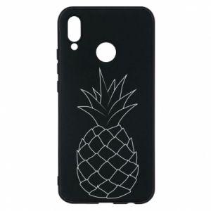 Etui na Huawei P20 Lite Pineapple contour