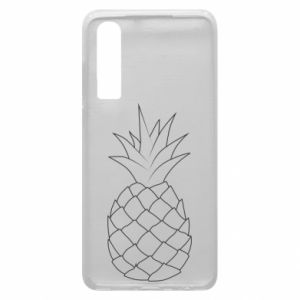 Etui na Huawei P30 Pineapple contour