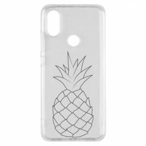 Etui na Xiaomi Mi A2 Pineapple contour