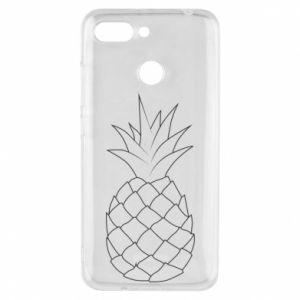 Etui na Xiaomi Redmi 6 Pineapple contour