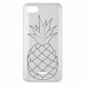 Etui na Xiaomi Redmi 6A Pineapple contour