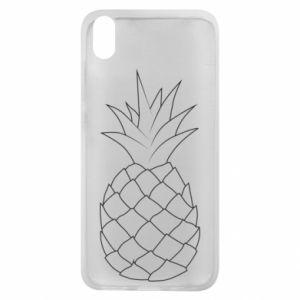 Etui na Xiaomi Redmi 7A Pineapple contour