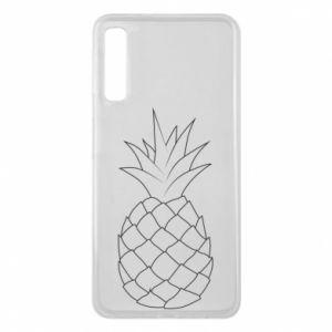 Etui na Samsung A7 2018 Pineapple contour