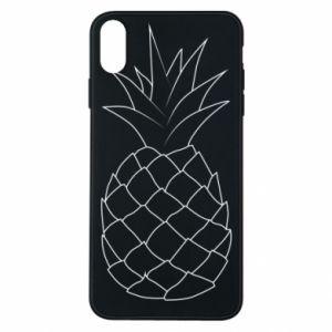 Etui na iPhone Xs Max Pineapple contour