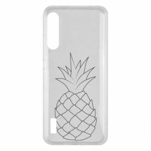 Xiaomi Mi A3 Case Pineapple contour