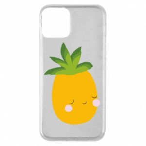 Etui na iPhone 11 Pineapple with face