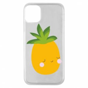 Etui na iPhone 11 Pro Pineapple with face
