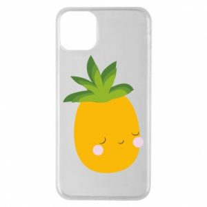 Etui na iPhone 11 Pro Max Pineapple with face