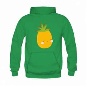 Bluza z kapturem dziecięca Pineapple with face
