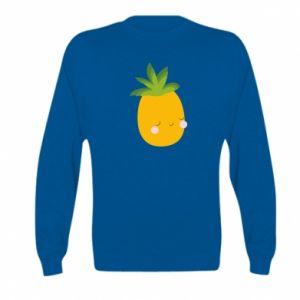 Bluza dziecięca Pineapple with face