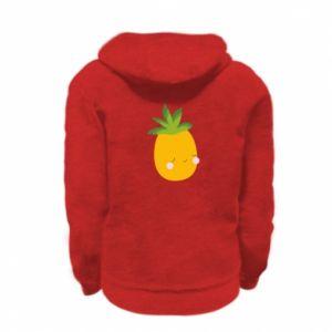 Bluza na zamek dziecięca Pineapple with face