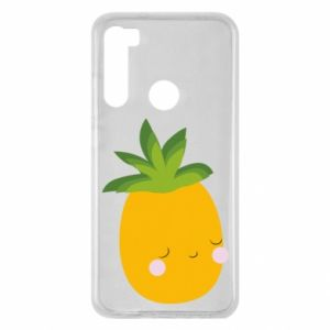 Etui na Xiaomi Redmi Note 8 Pineapple with face