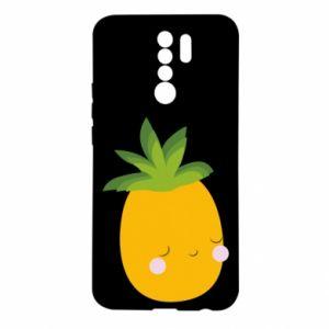 Etui na Xiaomi Redmi 9 Pineapple with face