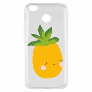 Etui na Xiaomi Redmi 4X Pineapple with face