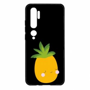 Etui na Xiaomi Mi Note 10 Pineapple with face