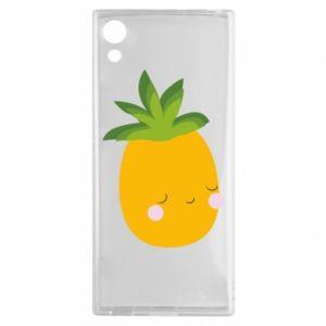 Etui na Sony Xperia XA1 Pineapple with face