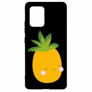 Etui na Samsung S10 Lite Pineapple with face