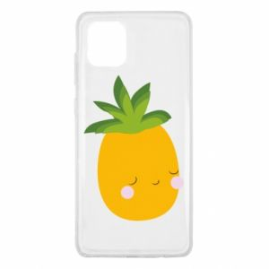 Etui na Samsung Note 10 Lite Pineapple with face