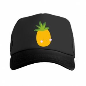 Czapka trucker Pineapple with face