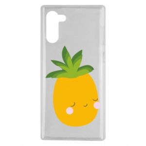 Etui na Samsung Note 10 Pineapple with face