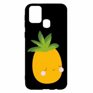 Etui na Samsung M31 Pineapple with face