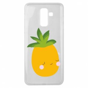 Etui na Samsung J8 2018 Pineapple with face
