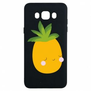 Etui na Samsung J7 2016 Pineapple with face