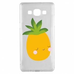 Etui na Samsung A5 2015 Pineapple with face