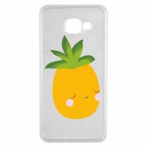 Etui na Samsung A3 2016 Pineapple with face