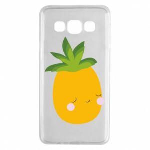 Etui na Samsung A3 2015 Pineapple with face