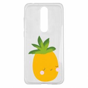 Etui na Nokia 5.1 Plus Pineapple with face