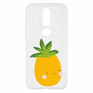 Etui na Nokia 4.2 Pineapple with face