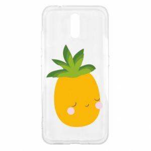 Etui na Nokia 2.3 Pineapple with face