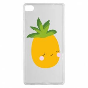 Etui na Huawei P8 Pineapple with face