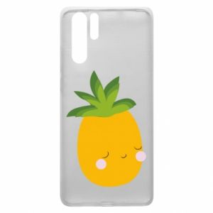 Etui na Huawei P30 Pro Pineapple with face