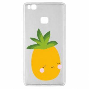 Etui na Huawei P9 Lite Pineapple with face